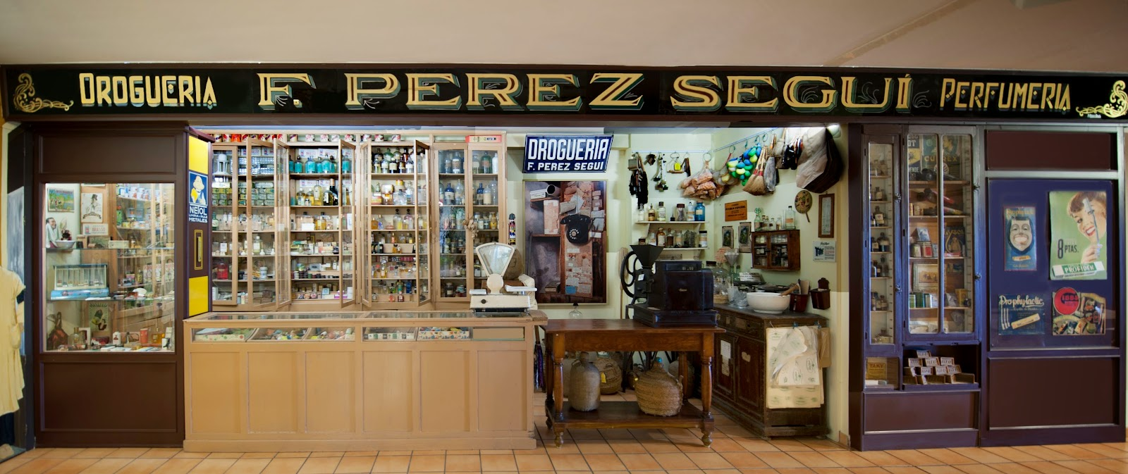 Old drugstore and perfumery