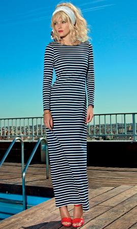 Dolores Promesas colección Resort vestido largo primavera verano 2013