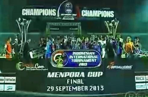 Arema Indonesia Menumbangkan Central Coast Mariners 2 - 1