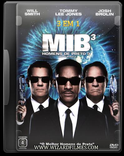 Trilogia Homens de Preto Torrent BluRay Rip 1080p Dublado (1997-2002-2012)