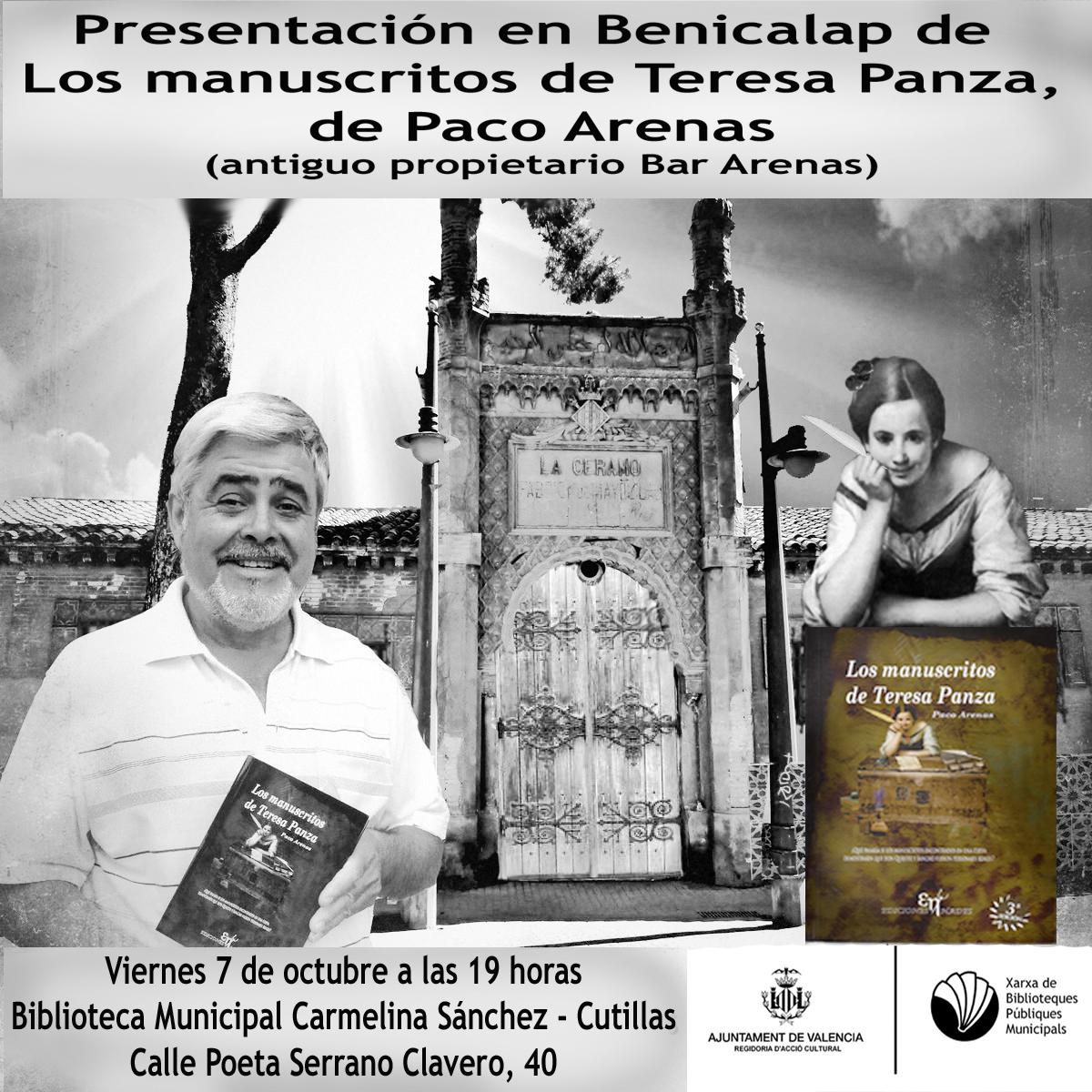 Presentación en Benicalap de Los Manuscritos de Teresa Panza