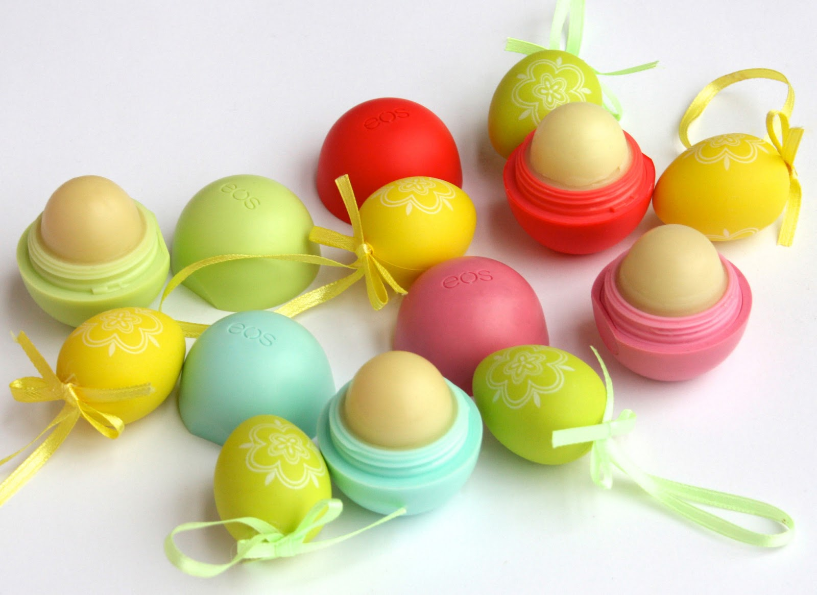 Easter Inspired: EOS Lip Balms Review | RosyChicc