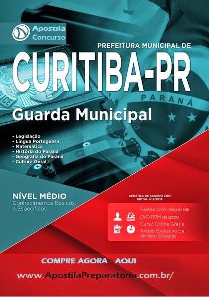 Apostila Prefeitura de Curitiba Guarda Municipal 2015