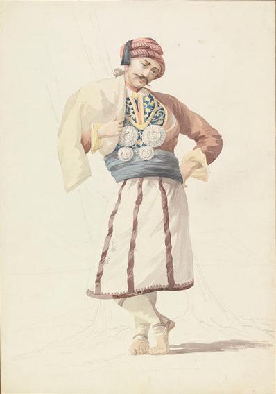 An Albanian(Turkey)