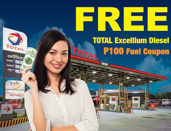 TOTAL Excellium Diesel Promo