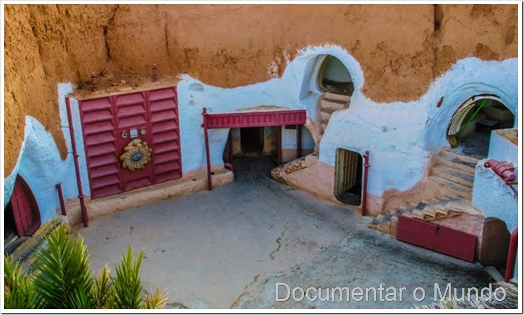 Hotel Sidi Driss; Star Wars; Tunísia