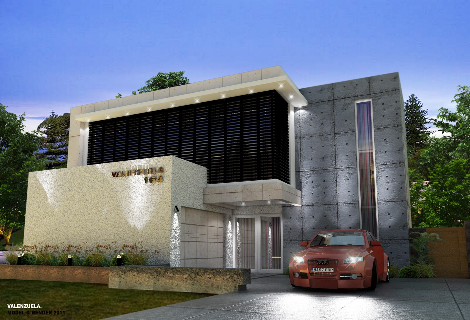 Valenzuela sketchup vray user exterior render 3d visualization for Setting render vray sketchup exterior