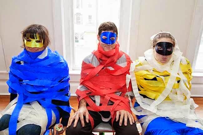 Capture the Villian Superhero Party Game