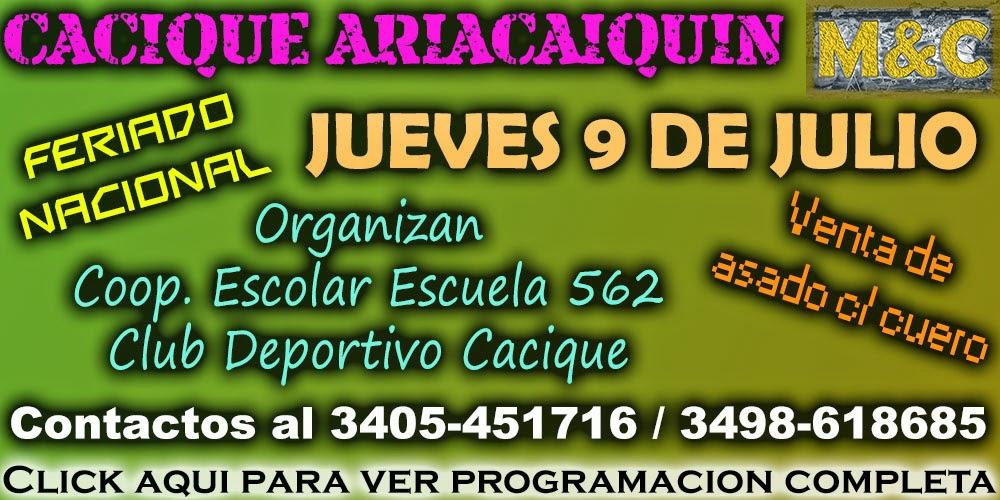 CACIQUE - 09/07/15