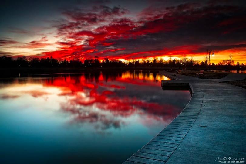 KUMPULAN FOTO SUNRISE DI BERBAGAI NEGARA