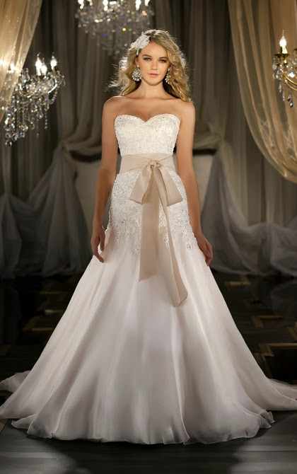 2 in 1 Wedding Dresses With or Without the Waistband 03a