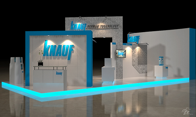 Exhibition Booth Bangkok : Knauf booth exhibition bangkok thailand