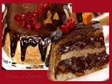 Marquesa de Chocolate y Frutas Deshidratadas