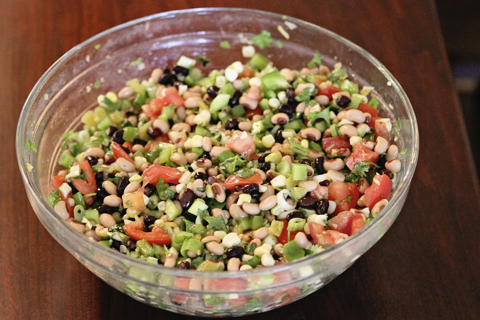 Suppers at Sunset: Black Eyed Pea Salsa