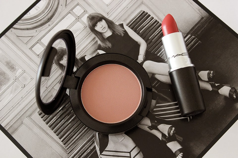 MAC Cubic Blush and See Sheer Lipstick