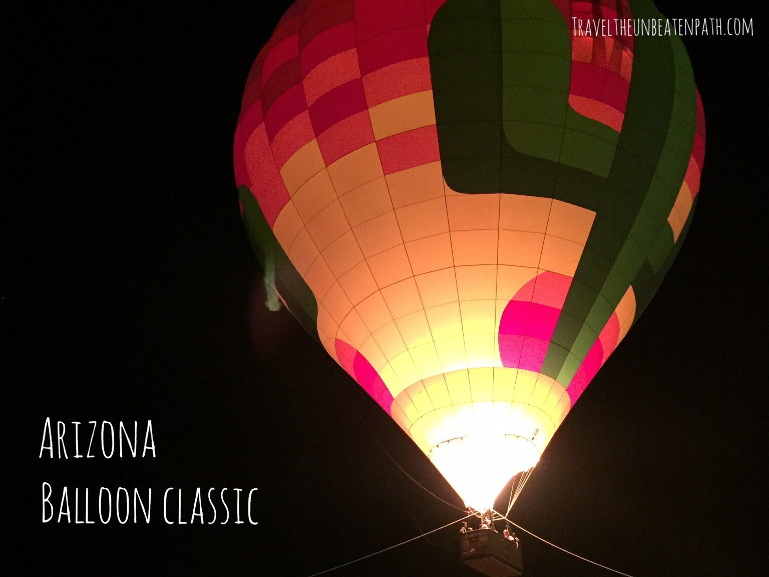 arizona hot air balloon classic festival