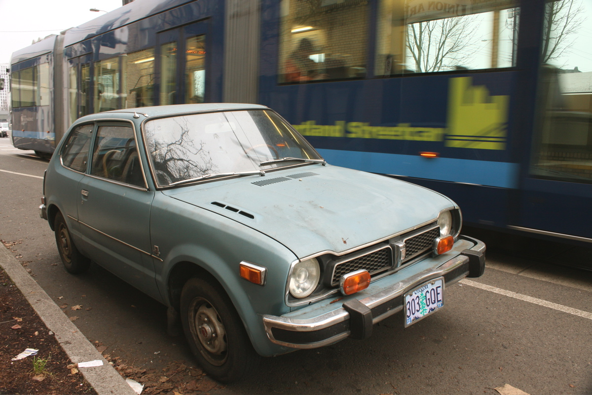 1975 Honda Civic.