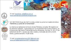 """Exposición Artística """"Sombras y Luces de la Humanidad"""" por el Grupo de Arte """"La Ventana"""" de Rosario"""