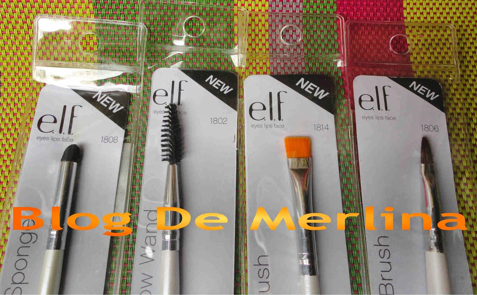 brochas de maquillaje elf