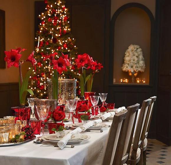 Interior relooking come apparecchiare la tavola di natale for Tavolo natalizio