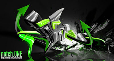 Full Graffiti Art 3D part 1