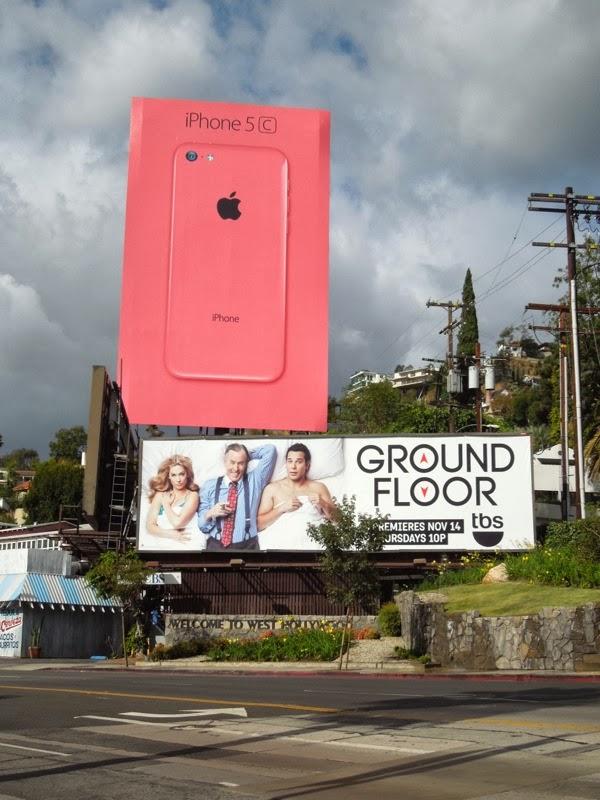 Ground Floor TV billboard