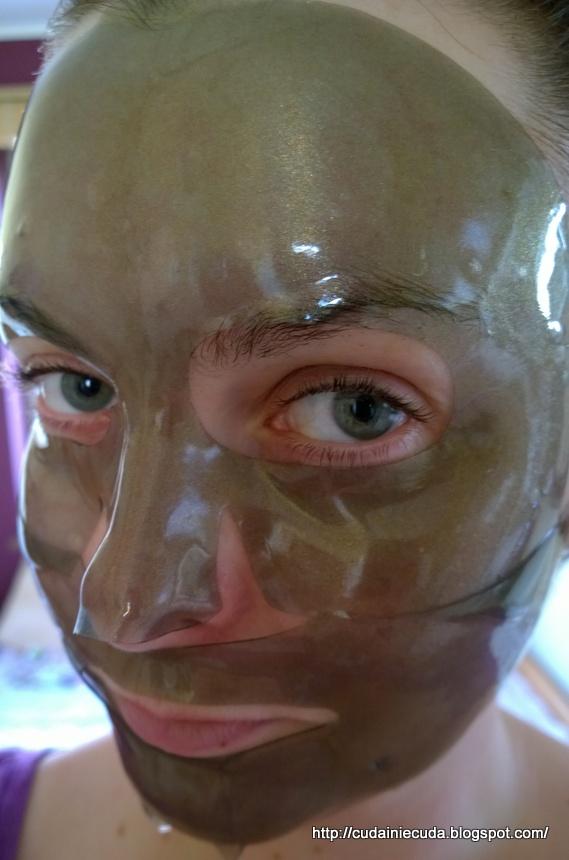 maska hydrożelowa