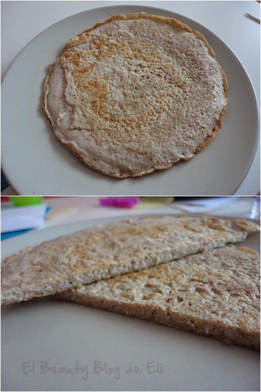 Tortitas de salvado de avena