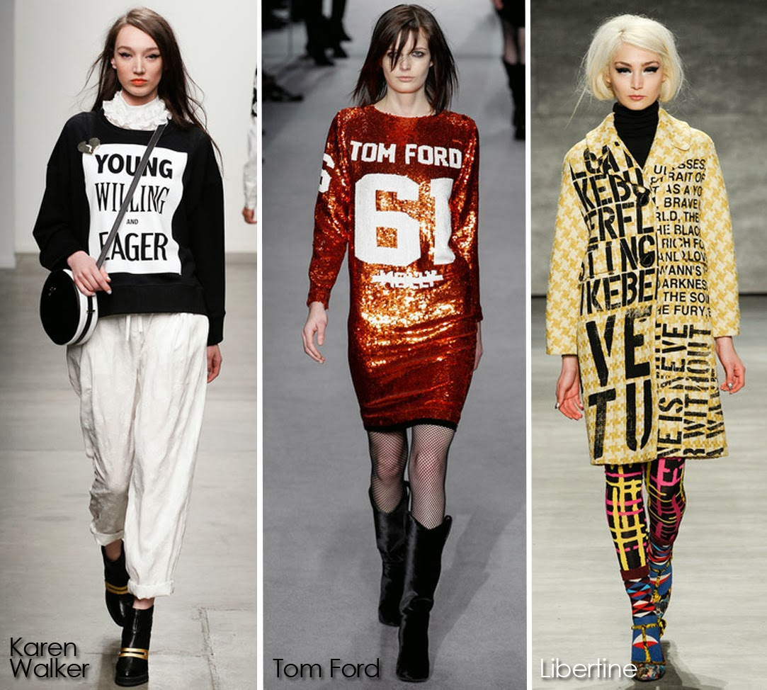 Inspected Trend: Wordplay featuring Karen Walker, Tom Ford, Libertine