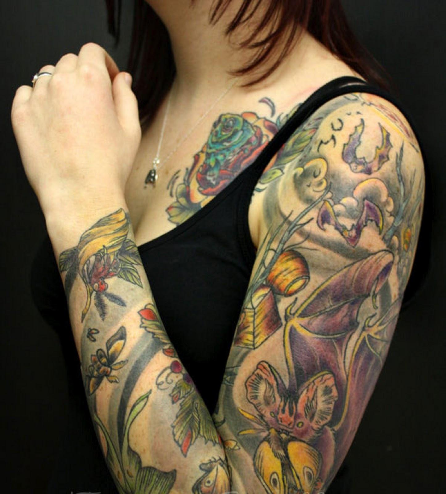 Ini dia tato lengan milik norman kamaru