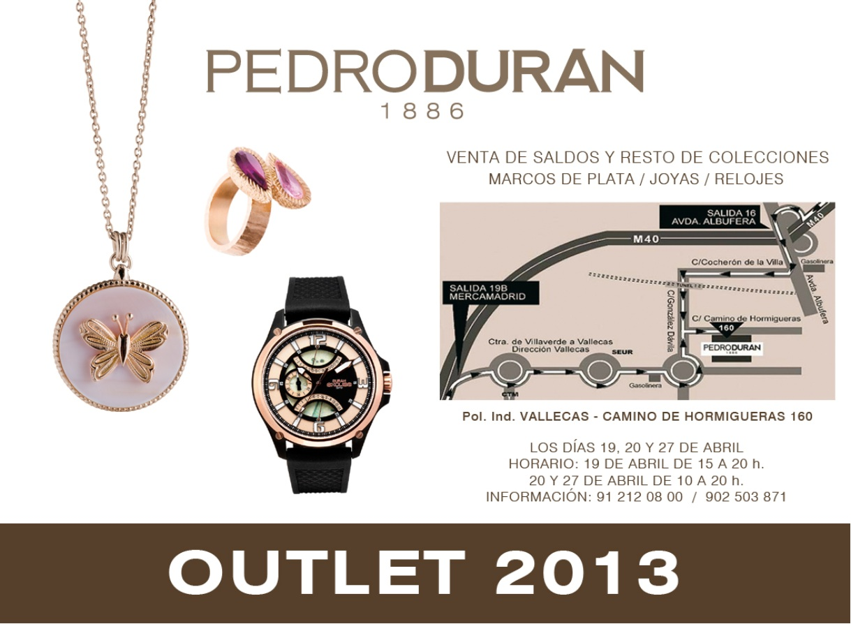 Outlet 2013 Pedro Duran by Miss and Chic