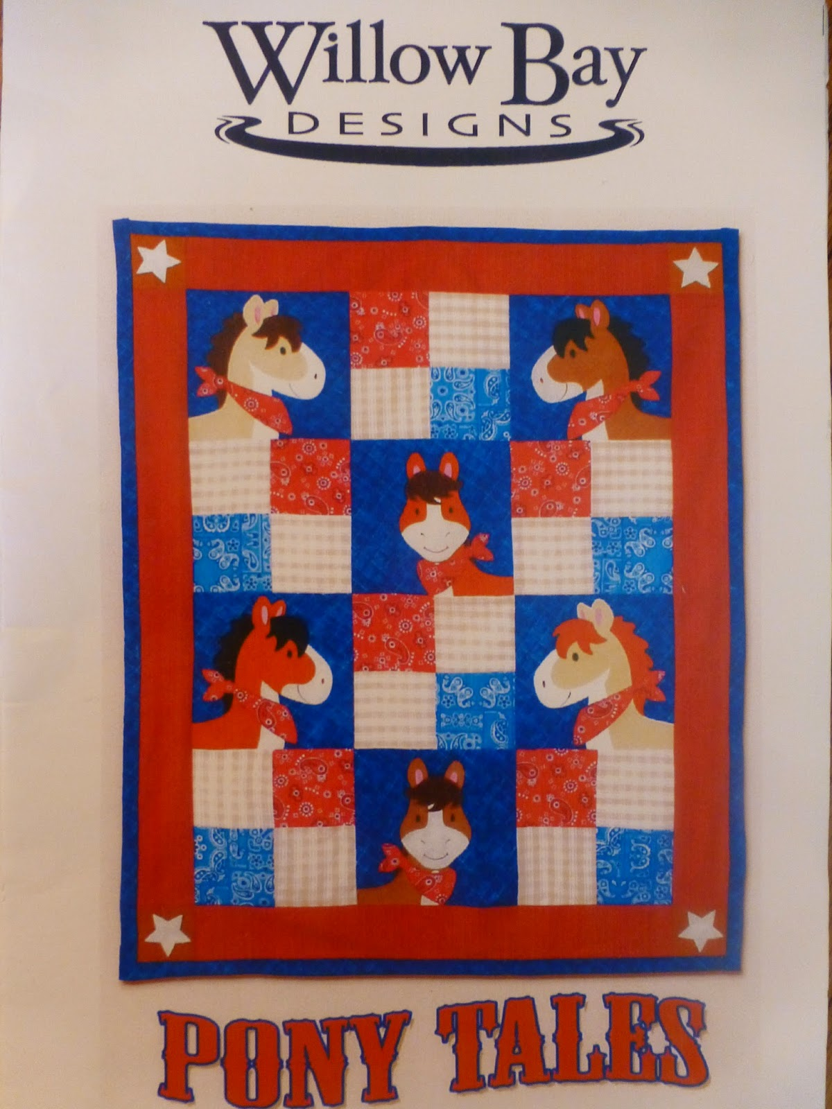 Lovin' Life At The End Of The Dirt Road: A Friday Finish - Pony ... : pony quilt - Adamdwight.com