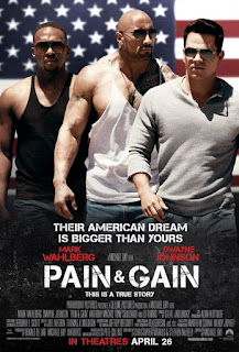 Pain & Gain 2013 Dual Audio Hindi Movie 190Mb hevc Bluray