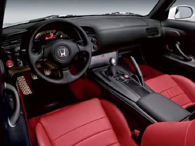 2015 Honda S2000 Interior