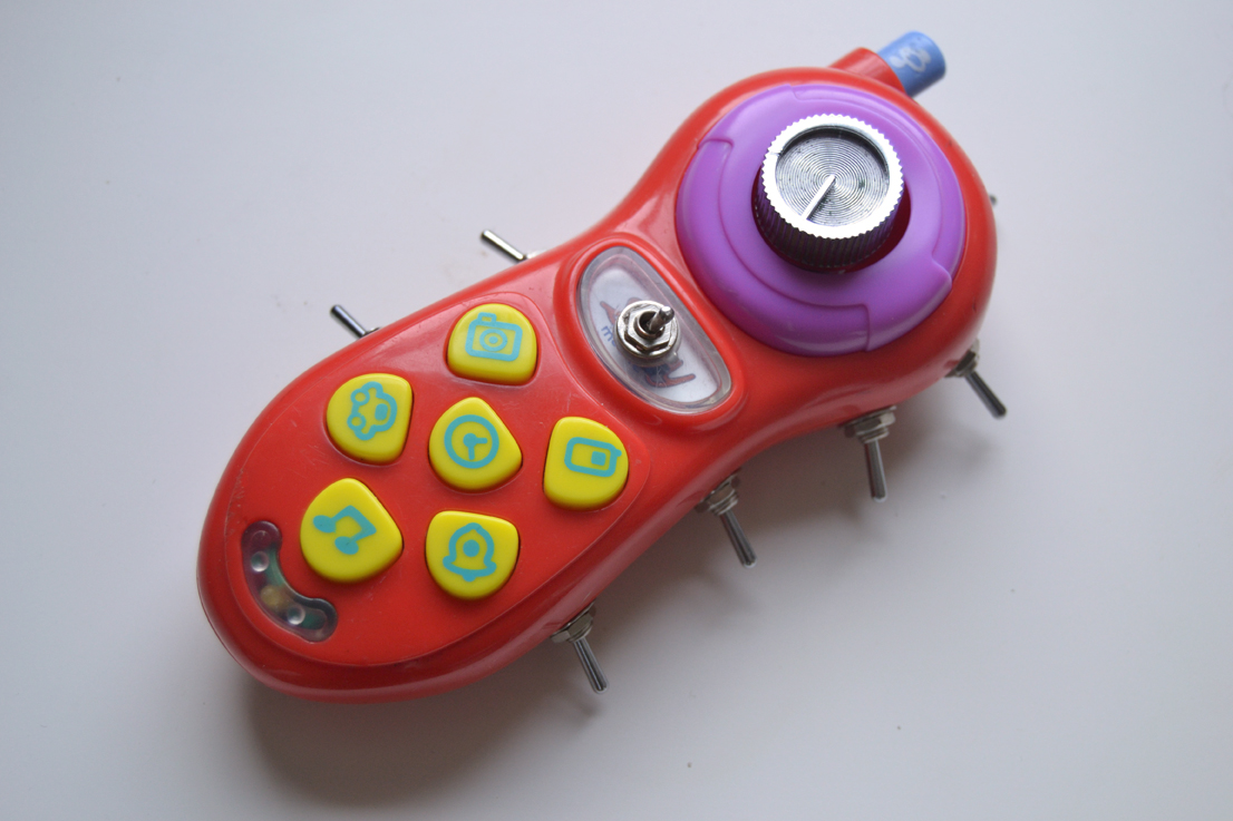 Modified electronic toys