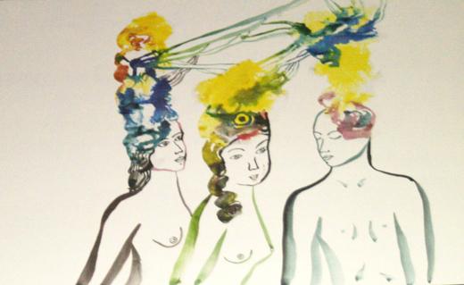 Arrington De Dyoniso, artworks, mostra, opere, quadri, serendeepity, milano, discosafari