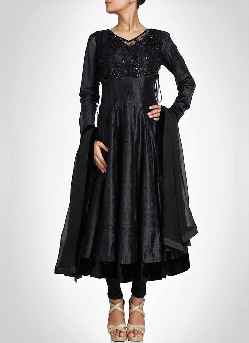 NewDesignsofLongAnarkaliSuitsCollection201428629 - New Designs of Long Anarkali Suits Collection 2014