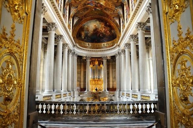 Capilla Real del Palacio de Versalles, Paris