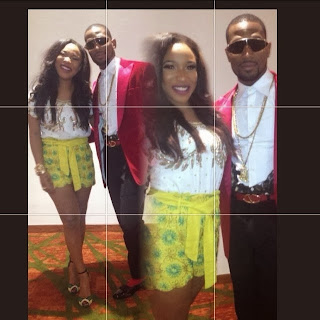 Tonto Dikeh and D'bang