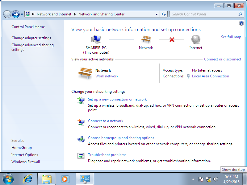 netbios how to change directory to a remote network share