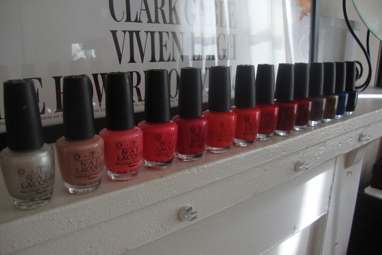 12 Steps to Fabulous: Nail Polish Collection: Part #1 OPI