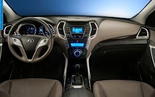 Hyundai santa fe car 2012 interior - صور سيارة هيونداى سنتافي 2012 من الداخل