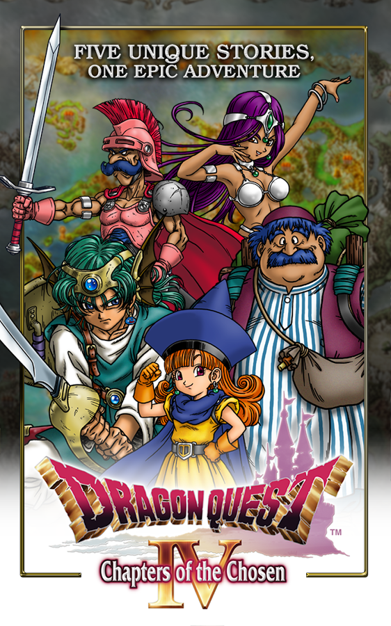 DRAGON QUEST IV APK+DATA (NO ROOT)