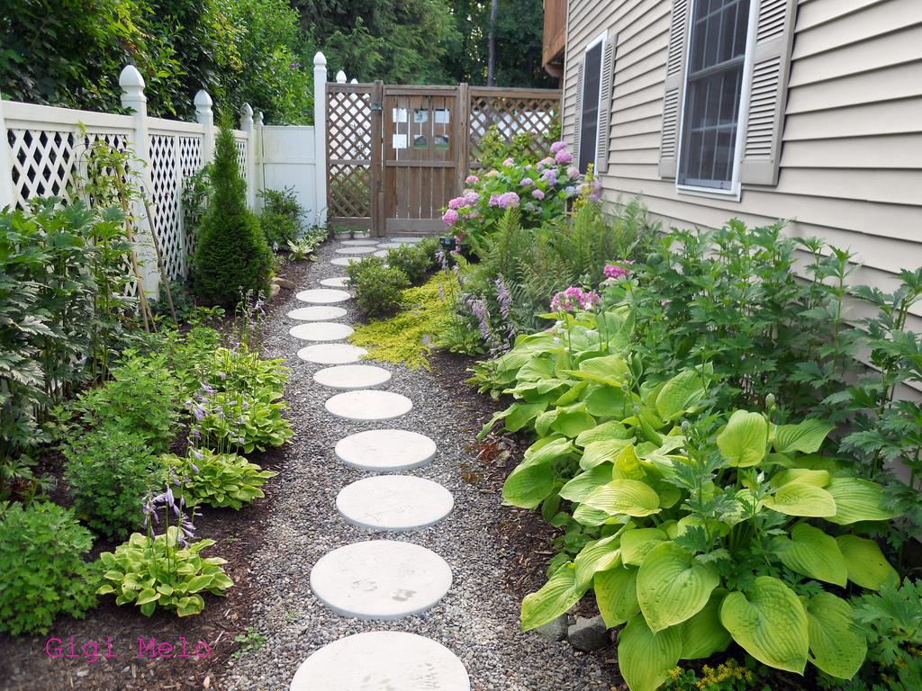 Fika a dika por um mundo melhor caminhos para jardim for Jardines pequenos esquineros