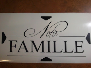 Notre Famille Wall Decal
