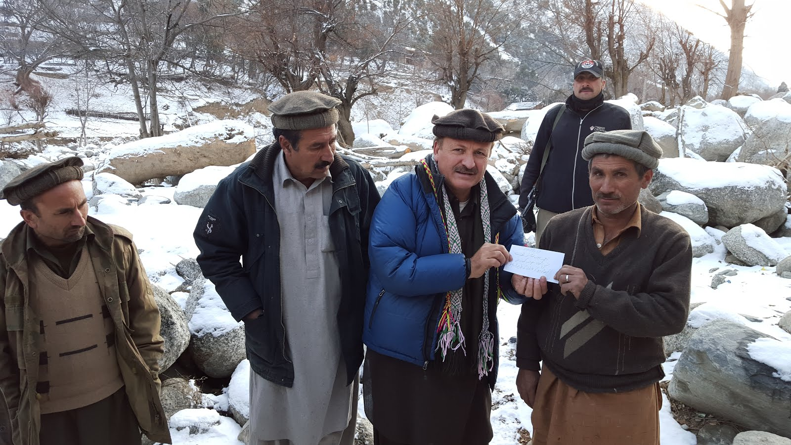 AHF RELIEF FOR BUMBURATE VALLEY OF CHITRAL