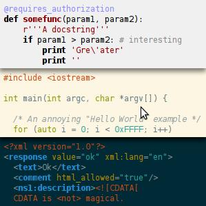Отечественная библиотека подсветки синтаксиса кода - Highlight.js