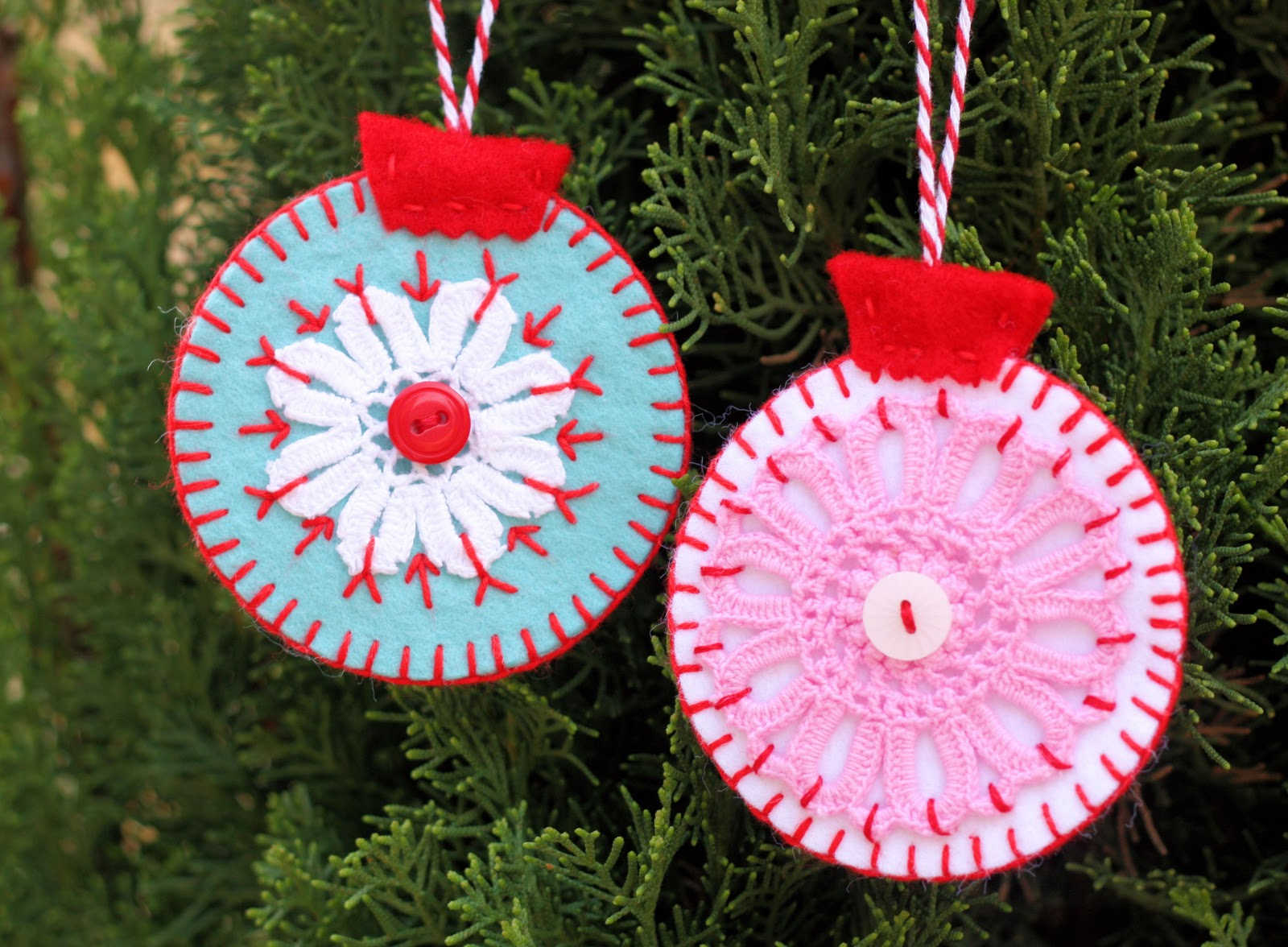 Homemade christmas ornaments a spoonful of sugar Christmas tree ornaments ideas