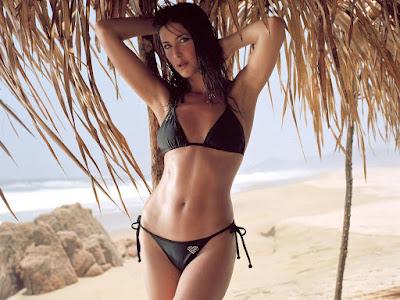 Lisa Snowdon Bikini Wallpaper