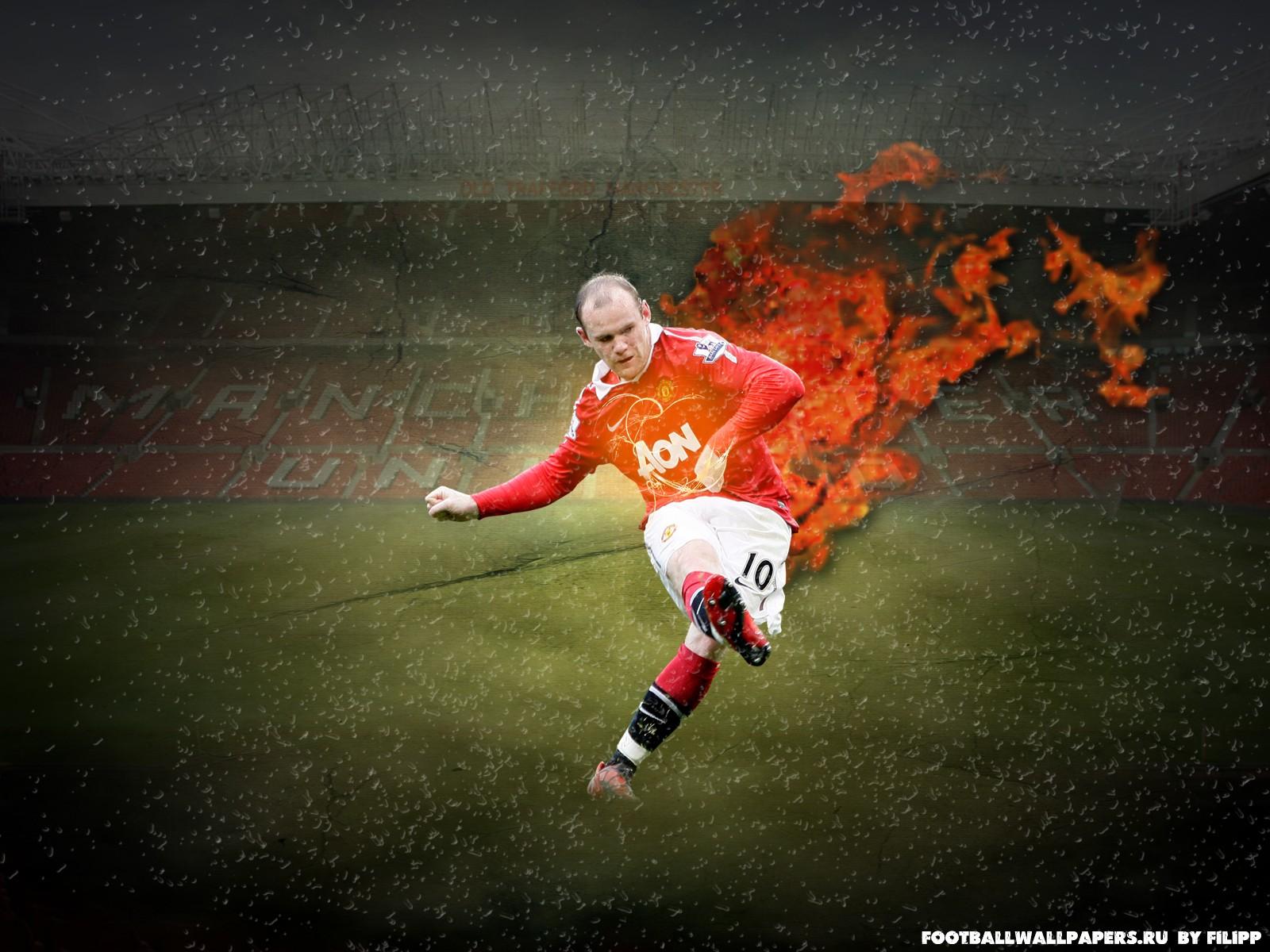 wayne rooney fire kick